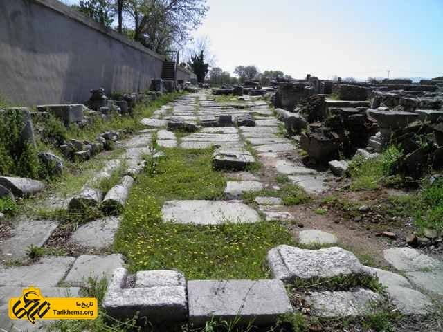 جاده های روم