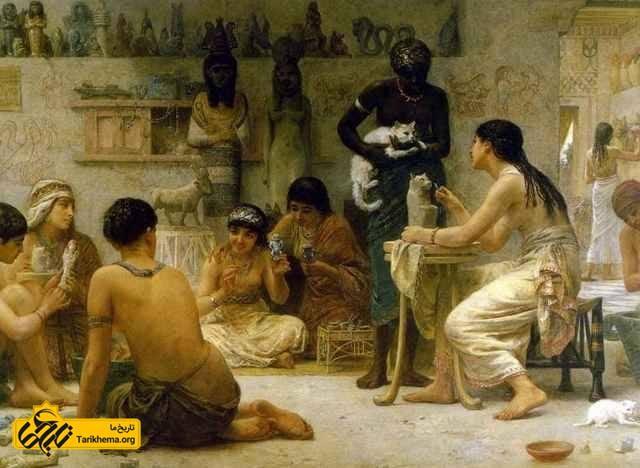 گربه های بدردبخور در مصر باستان