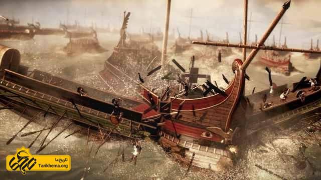 پیشرفته ترین نیروی دریایی دوران باستان