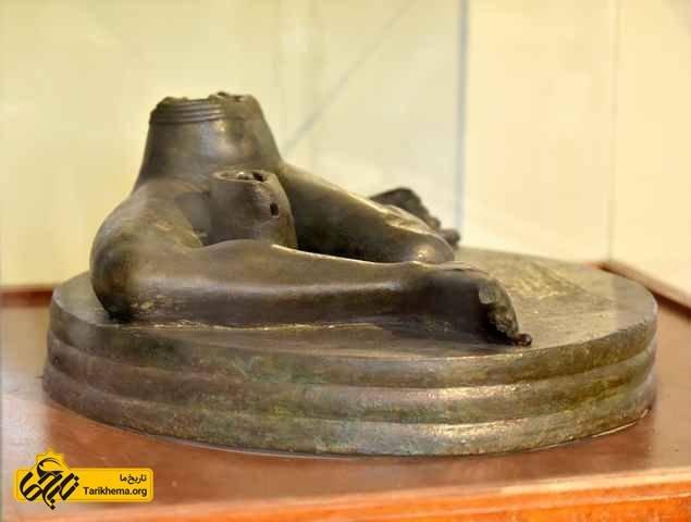 مجسمه باستکی در موزه عراق