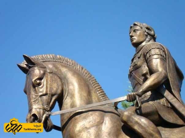 مجسمه الکساندر کبیر