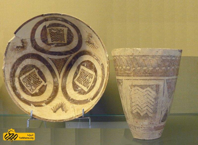 ظروف یافت شده در شوش مربوط به 4000 سال پیش از میلاد