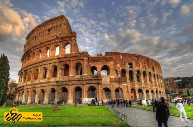 نمایی از کلوسئوم روم