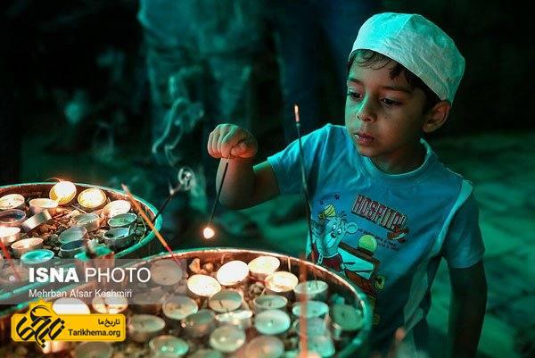 گردهمایی سالانه زرتشتیان در زیارتگاه پیرسبز