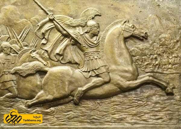 اسکندر مقدونی در یونان