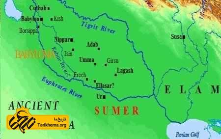 نقشه باستانی