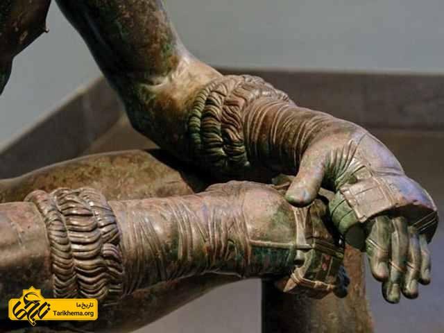 بازی بوکس یونان باستان