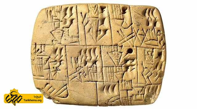 خط میخی در بین النهرین باستان