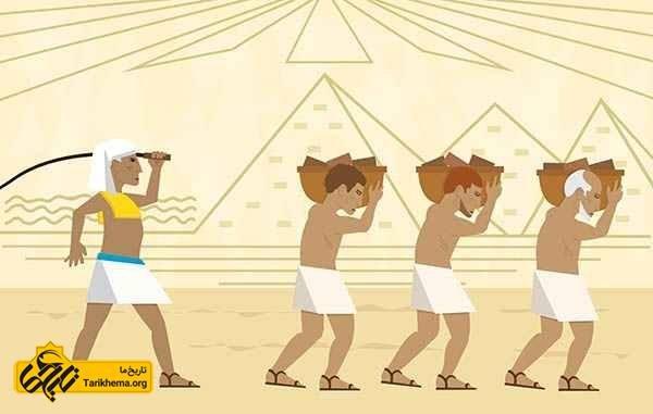 ساخت اهرام مصر باستان