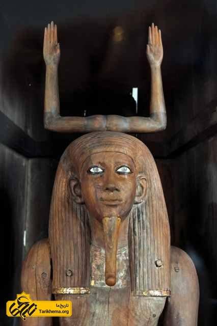 مجسمه ای از کا در مصر باستان