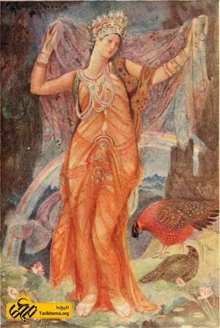ایشتار، الهه عشق و نشاط