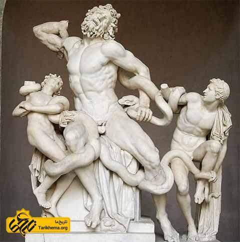 مجسمه لائوکوئون و پسرانش