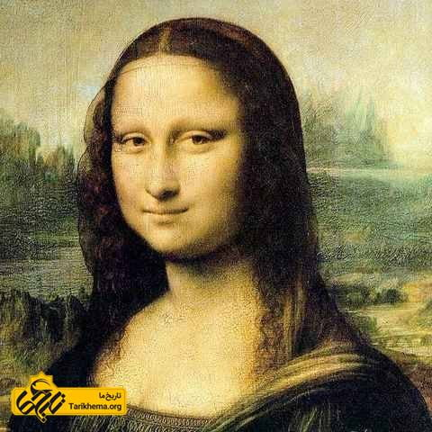 چهره مونالیزا، داوینچی