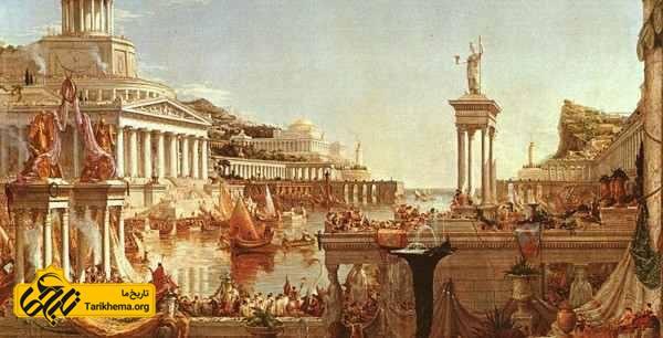 ظهور تیران های یونان