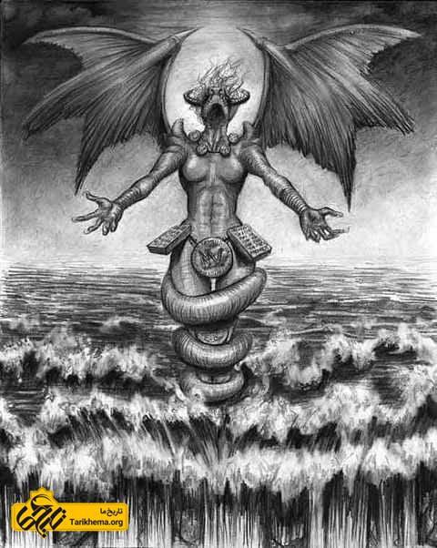 تیامات، الهه دریای نمک
