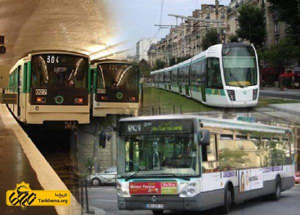 حمل و نقل در پاریس