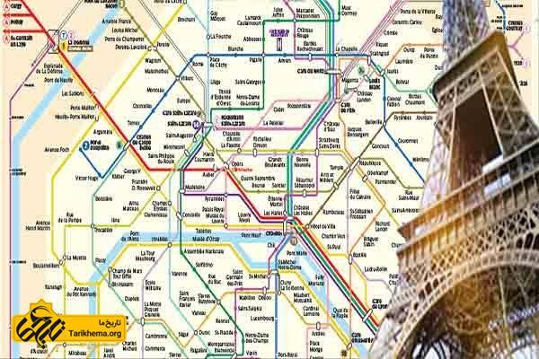 مسیرهای دسترسی به پاریس