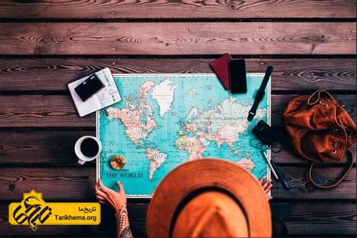 دربارۀ مقصد سفر خود تحقیق کنید.