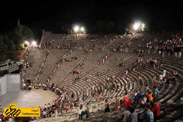 سالن های تئاتر یونان