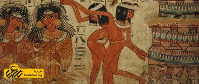 رقص و موسیقی در مصر باستان