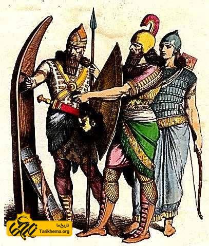 جنگجویان آشوری