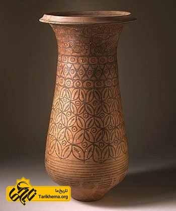 گلدانی متعلق به تمدن هاپاران