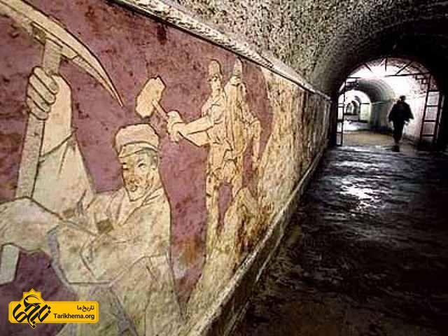 نقاشی دیواری شهر زیزمینی پکن