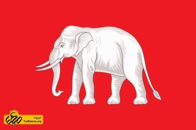 فیل سفید ، نماد تایلند