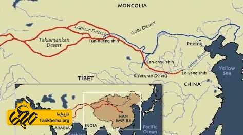توسعه مسیر تجاری ابریشم در سلسه هان