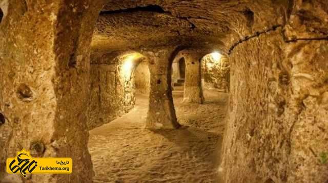 شهر زیرزمینی درینکویو، ترکیه
