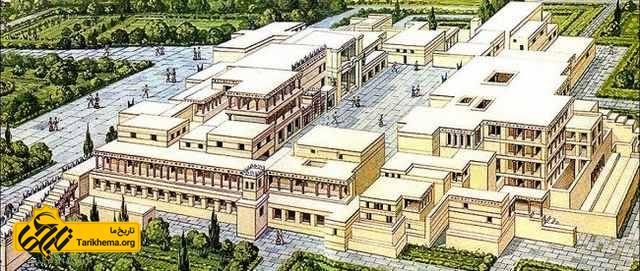کاخ کنسوس کرت باستان
