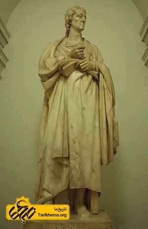 مجسمه جان لاک در دانشگاه لندن