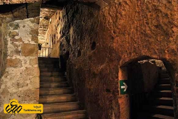 شهر زیرزمینی اورویتو، ایتالیا
