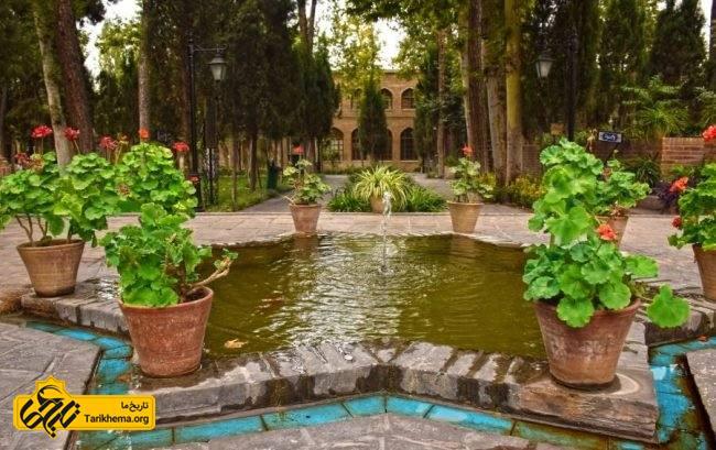 بنا های موجود در باغ موزه نگارستان