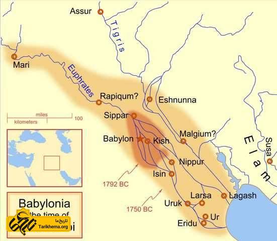 امپراطوری بابل در پادشاهی هامورابی