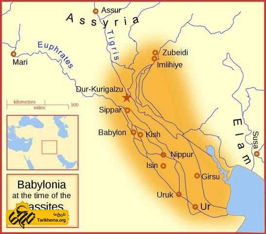 امپراطوری بابل تحت سلطنت کاسی ها