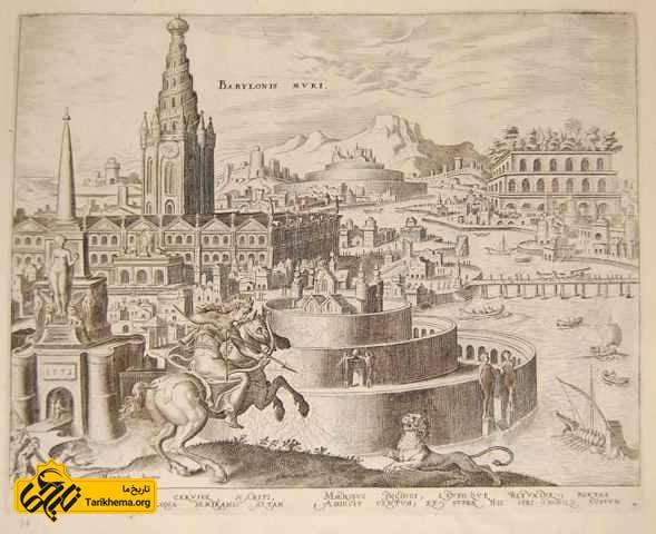 شکار شیر توسط سمیرامیس در بابل