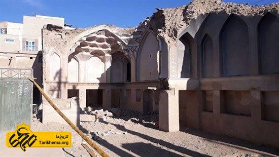 بناهای تاریخیای که تخریب شدند