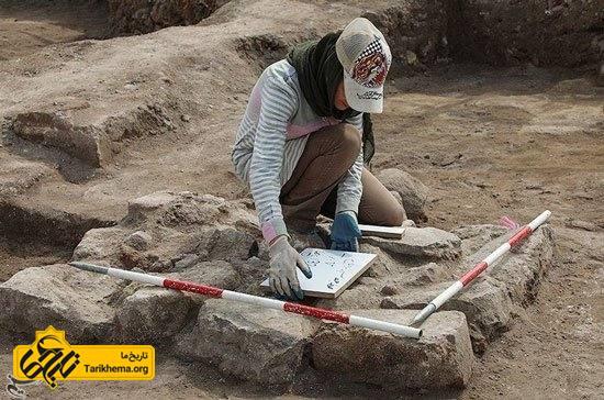 پیدا کردن آثار باستانی در کاوش مسجد جامع عتیق اردبیل