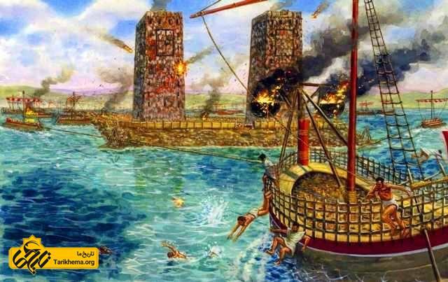 محاصر شهر باستانی تایر