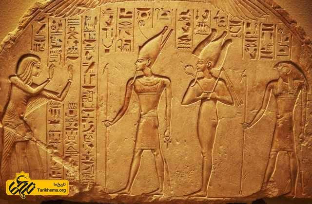 نقاشی دیواری مصر باستان