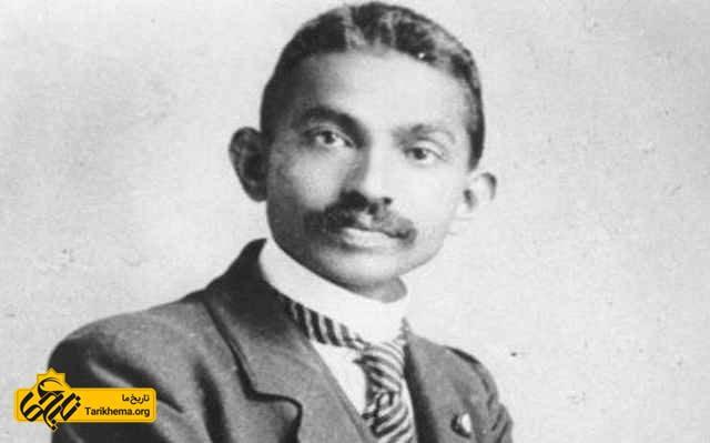 مهاتما گاندی در آفریقای جنوبی