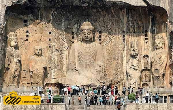 مجسمه بودا در لانگمن گروتو، چین