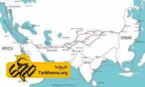 جاده ابریشم در قرن اول