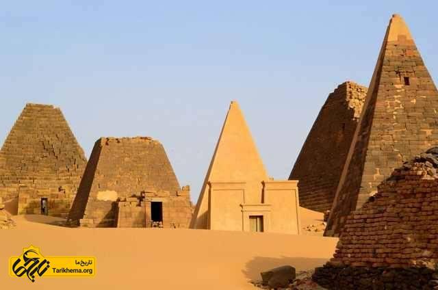 شهر باستانی مرویی در حاشیه غربی نیل