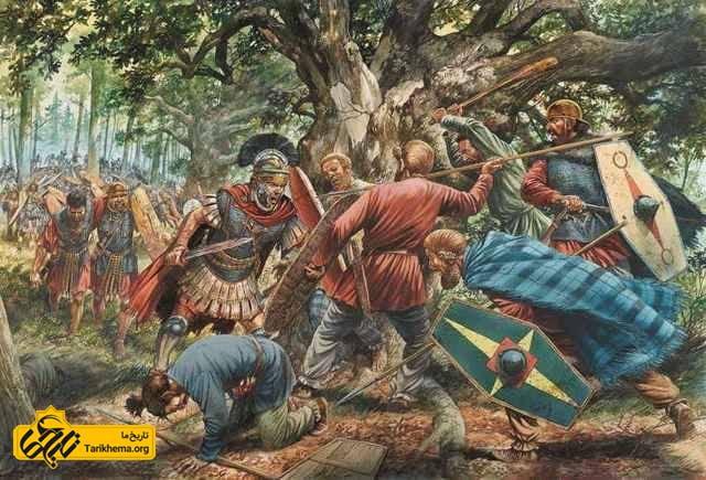 نبرد در جنگل تیوتوبورگ