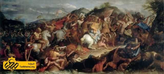 اسکندر در جنگ گرانیک