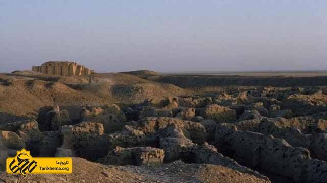 باقایای زیگورات و شهر باستانی اور