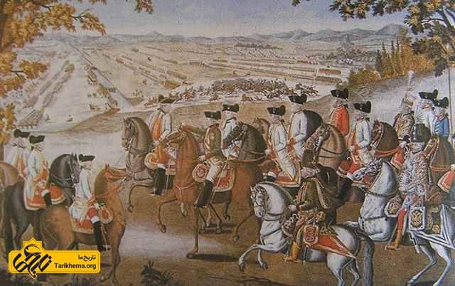 ژوزف دوم و سربازانش