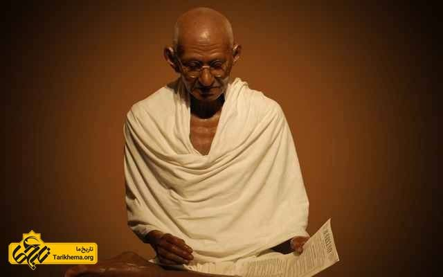 گاندی مرد صلح